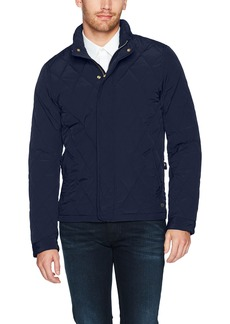 Scotch & Soda Men's Classic Lightweight Padded Jacket with Diamond Quilting  S