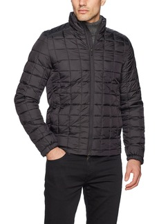 Scotch & Soda Men's Classic Padded Jacket in Nylon Quality with Square Quilting  XXL