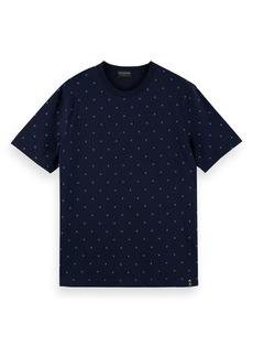 Scotch & Soda Men's Classic Patterned T-Shirt