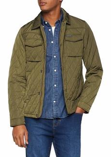 Scotch & Soda Men's Classic Quilted Shirt Jacket  L