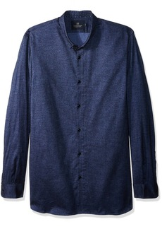 Scotch & Soda Men's Classic Shirt in Brushed Cotton Oxford Quality  XL