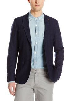 Scotch & Soda Men's Classic Summer Blazer in Polyester/Viscose Quality Combo A