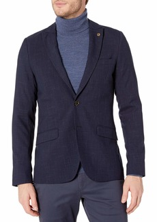 Scotch & Soda Men's Classic Summer Blazer in Polyester/Viscose Quality Combo A