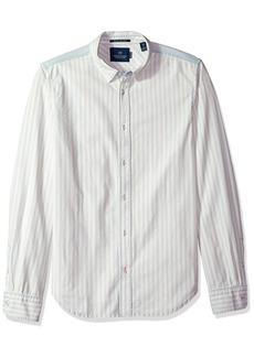 Scotch & Soda Men's Classic Summer Indigo Shirt  XL