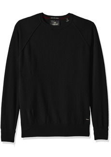 Scotch & Soda Men's Crewneck Pullover in 100% Cashmere Quality