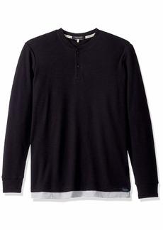 Scotch & Soda Men's Double Layer Grandad T-Shirt  XXL
