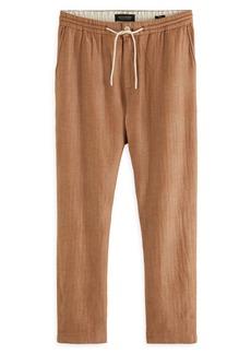 Scotch & Soda Men's Fave Cotton & Linen Pants