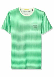 Scotch & Soda Men's Garment Dyed T-Shirt  L