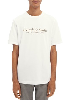 Scotch & Soda Men's Logo Graphic Tee