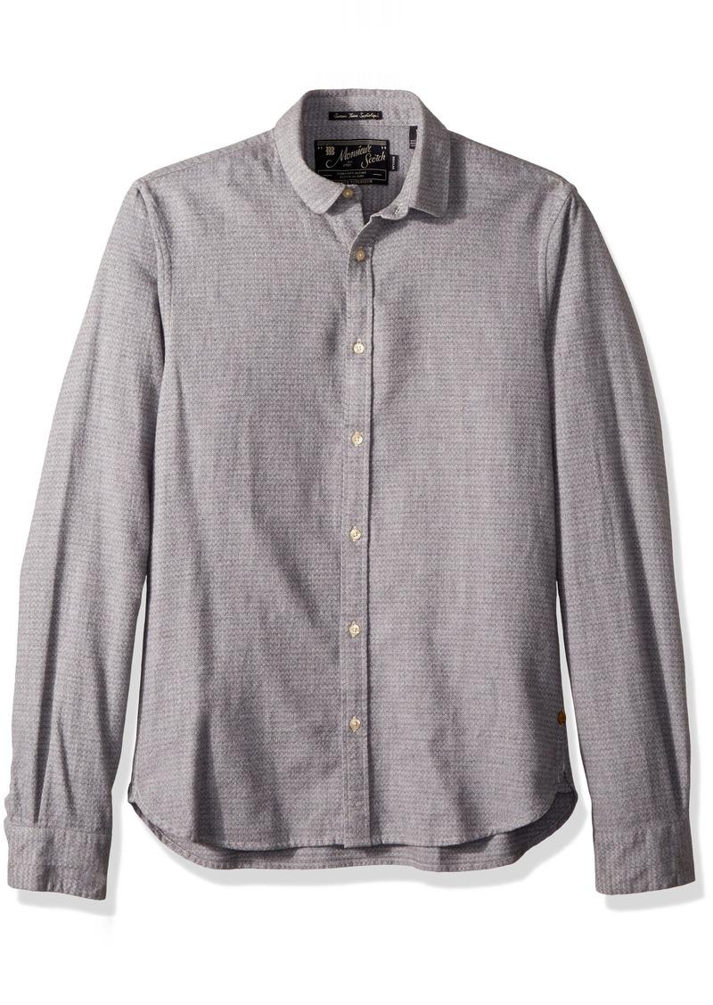 Scotch & Soda Men's Longsleeve Shirt in Dobby Patterns Combo b XXL