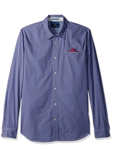 Scotch & Soda Men's Longsleeve Shirt in Lightweight Crispy Poplin Quality with F Combo A