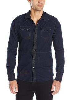Scotch & Soda Men's Lot 22 Premium Sawtooth Shirt