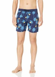 Scotch & Soda Men's Mini Embroidery Swim Shorts  S