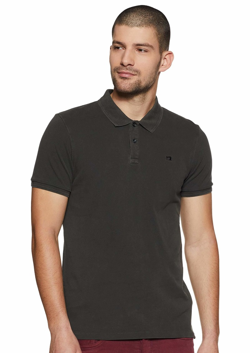 Scotch & Soda Men's Nos-Garment Dyed Polo