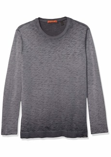 Scotch & Soda Men's Oil Wash ong Sleeve T-Shirt