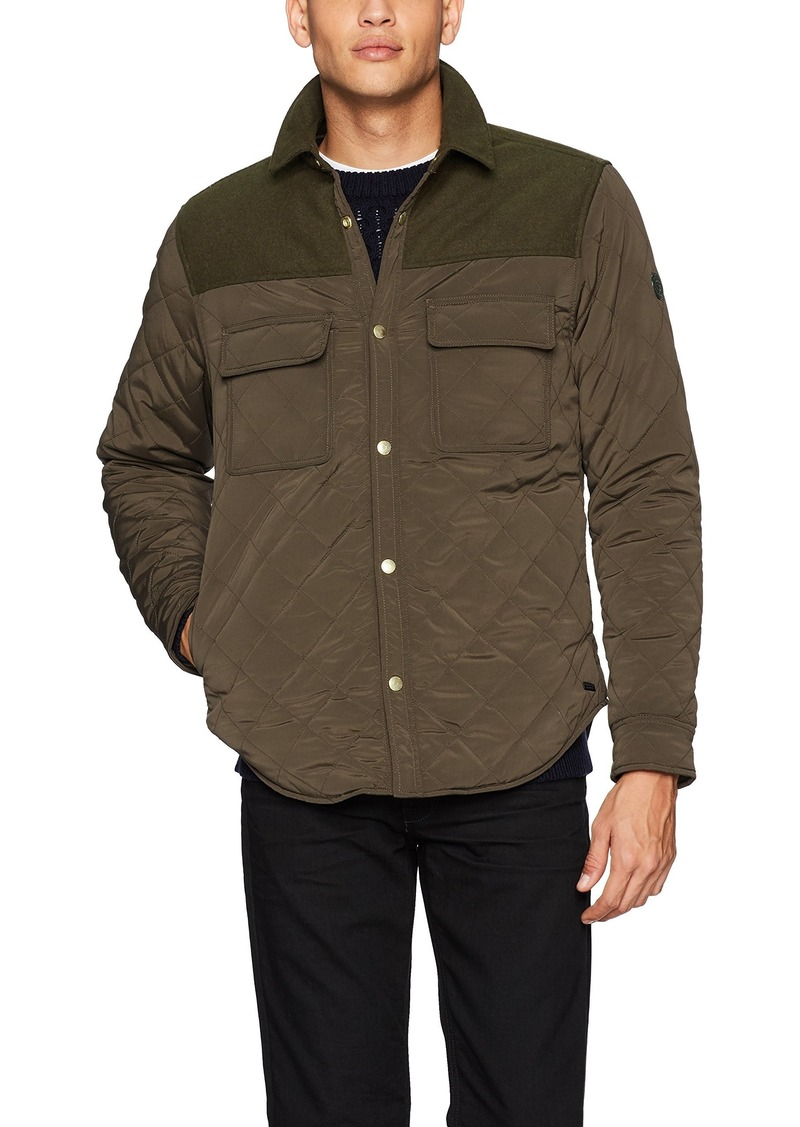 On Sale Today Scotch Soda Scotch Soda Mens Quilted Shirt