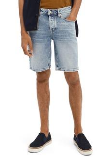 Scotch & Soda Men's Ralston Slim Fit Denim Walking Shorts (Timeworn)