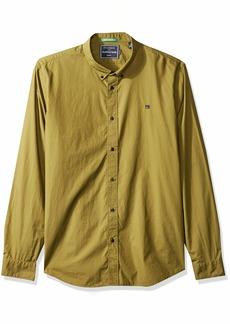 Scotch & Soda Men's Relaxed Fit Classic Crispy Poplin Shirt  XL