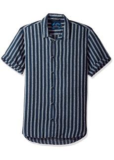 Scotch & Soda Men's Shortsleeve Structured Shirt  XL
