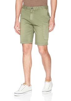 Scotch & Soda Men's Washed Cargo Short in Soft Pastel Colours