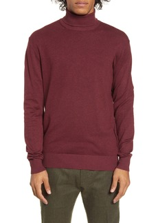 Scotch & Soda Mélange Slim Fit Turtleneck Sweater