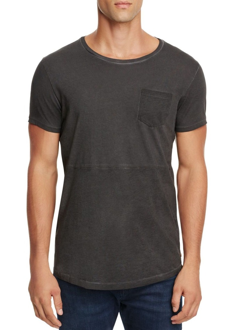 Scotch & Soda Oil-Washed Crewneck Tee