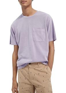 Scotch & Soda Organic Cotton Piqué Pocket T-Shirt