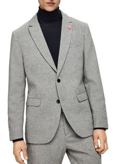Scotch & Soda Peak Lapel Slim Fit Blazer