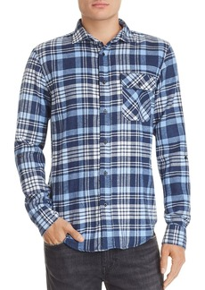 Scotch & Soda Plaid Double-Faced Regular Fit Shirt