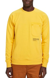 Scotch & Soda Pocket Crewneck Sweatshirt