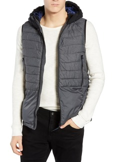 Scotch & Soda Quilted Hooded Vest