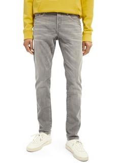 Scotch & Soda Ralston Slim Straight Leg Jeans (Cement Mélange)