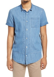 Scotch & Soda Regular Fit Button-Up Shirt