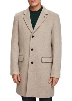 Scotch & Soda Regular Fit Classic Tailored Topcoat