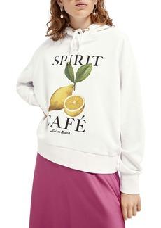 Scotch & Soda Relaxed Fit Hooded Sweatshirt