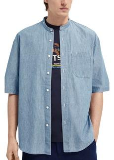 Scotch & Soda Short Sleeve Button-Up Shirt
