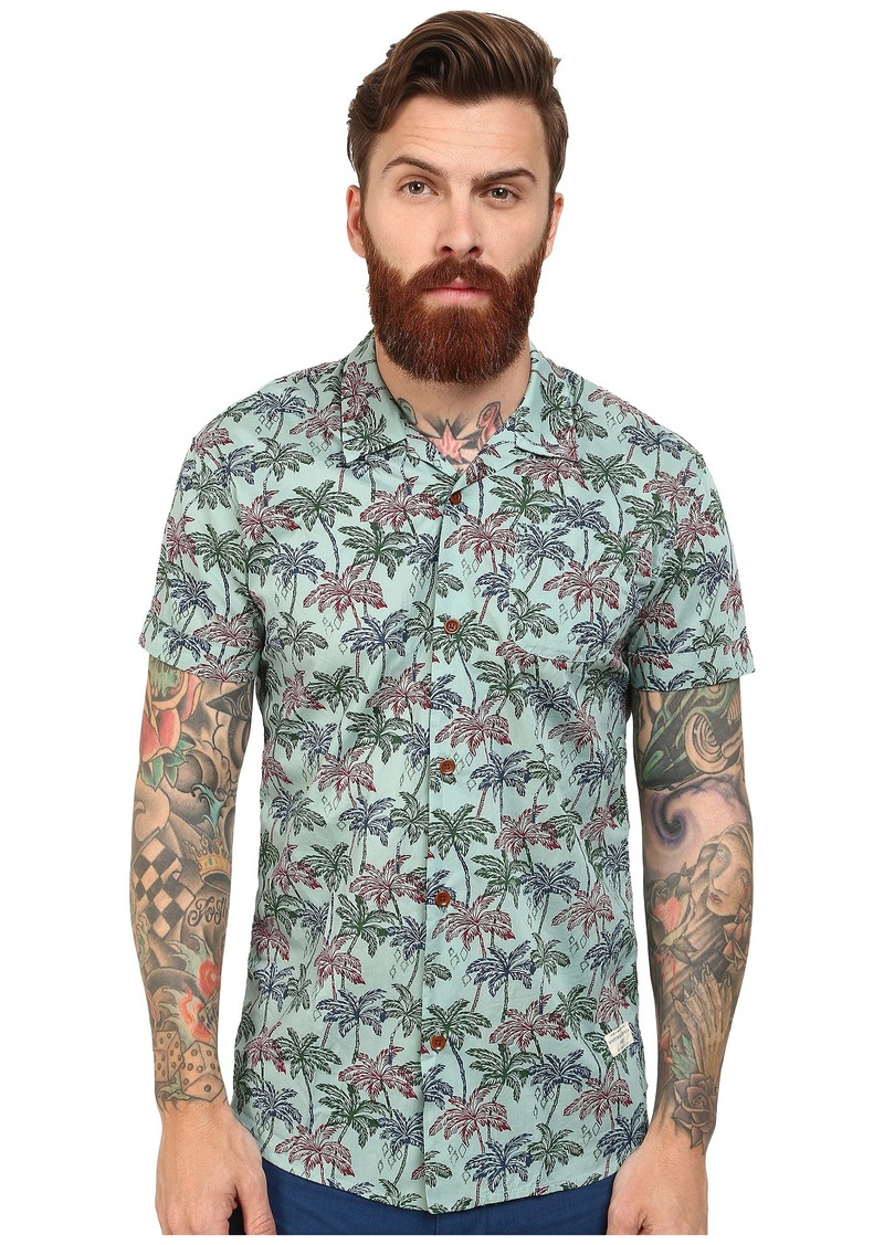 Scotch & Soda Short Sleeve Hawaii Print Shirt