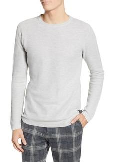 Scotch & Soda Snow Washed Thermal Knit Sweatshirt