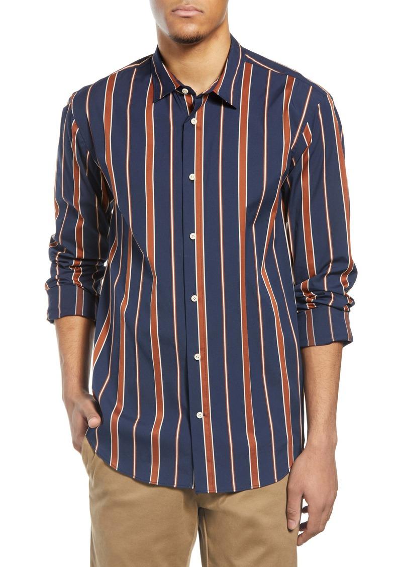 Scotch & Soda Stripe Button-Up Shirt