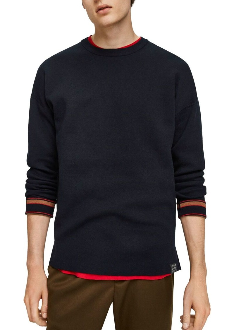 Scotch & Soda Stripe-Cuff Sweater