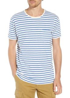 Scotch & Soda Stripe Pocket T-Shirt