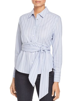 Scotch & Soda Striped Belted Shirt