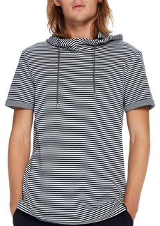 Scotch & Soda Striped Hooded Pullover