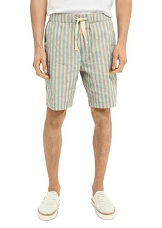 Scotch & Soda Striped Relaxed Fit Shorts