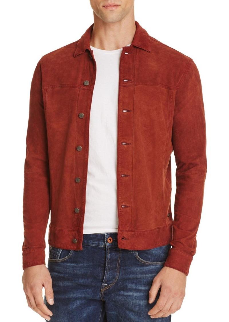 Scotch & Soda Suede Shirt Jacket