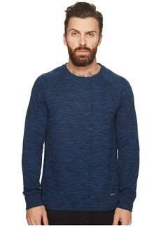 Scotch & Soda Sweat in Brushed Melange Felpa Quality