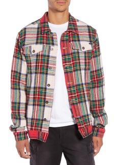 Scotch & Soda Tartan Plaid Trucker Jacket