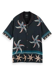 Scotch & Soda Tropical Print Button-Up Shirt