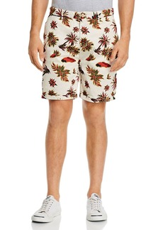 Scotch & Soda Tropical Print Slim Fit Shorts