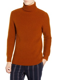 Scotch & Soda Wool Blend Turtleneck Sweater